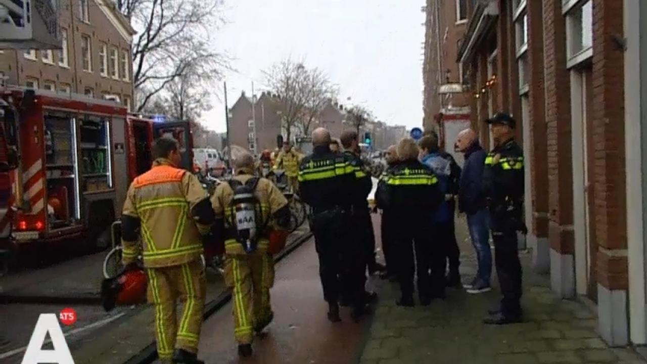 Omwonenden geschokt na brand Marnixstraat