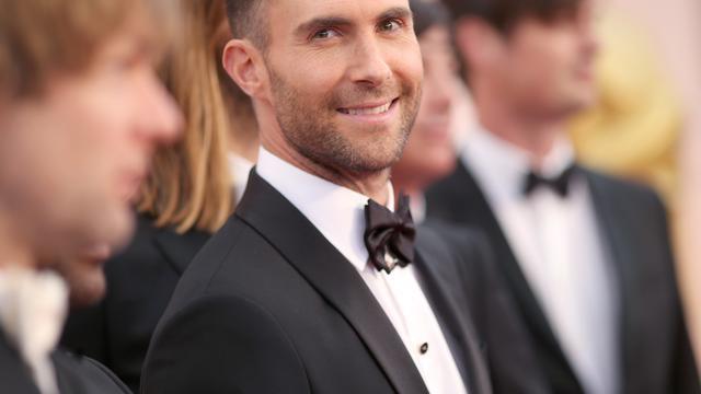 Ster op Walk of Fame voor zanger Adam Levine