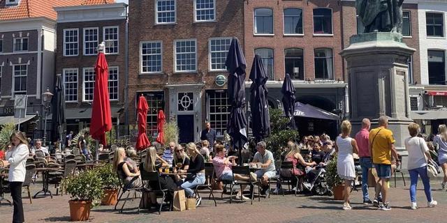 Grotere terrassen in Haarlem toegestaan tot 1 januari