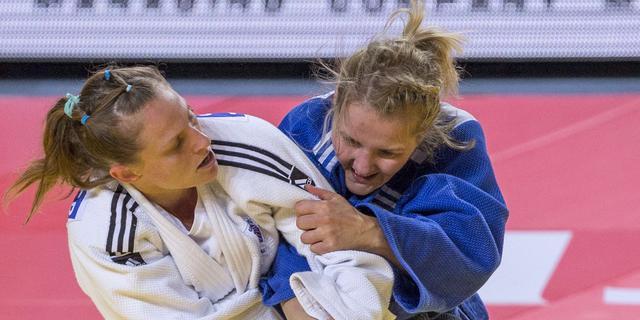 Judoka Franssen gediskwalificeerd in halve finale WK