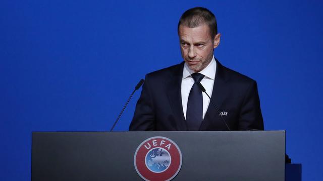 UEFA-voorzitter Ceferin zet vraagtekens bij vroege beëindiging competities