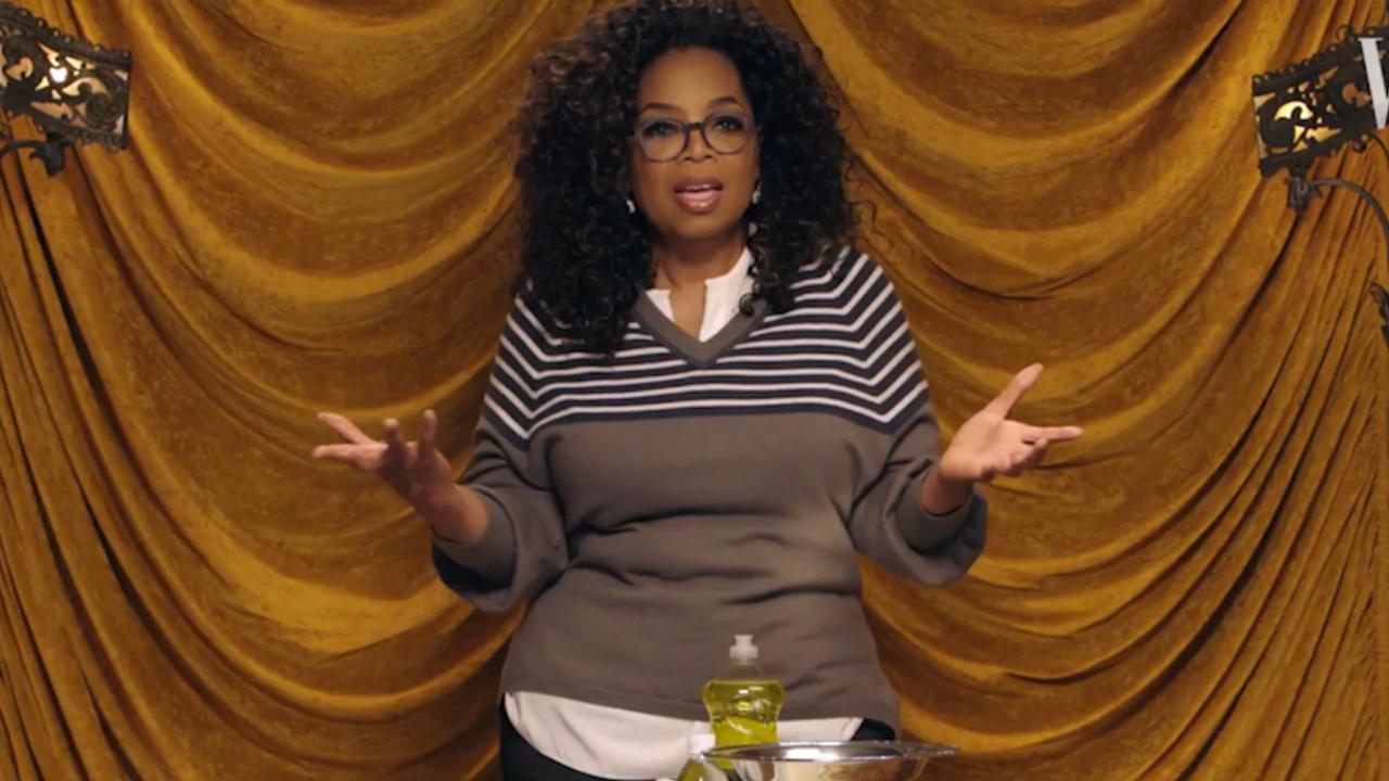 Oprah Winfrey geeft tips voor het schoonmaken van poepvlekken