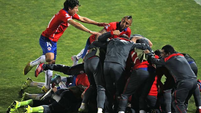 Chili schakelt negental Uruguay uit in kwartfinale Copa America
