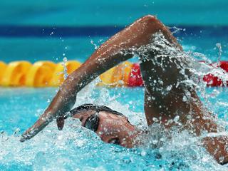 Kamminga ondanks persoonlijk record niet in finale 200 meter schoolslag