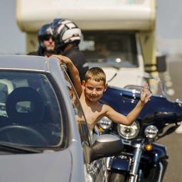 Veel vakantiefiles op Europese snelwegen richting het zuiden