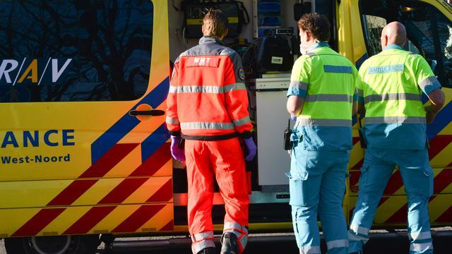 Motorrijder gewond bij botsing met bestelbus op A12 bij Den Haag