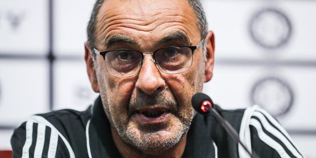 Coach Sarri mist door longontsteking eerste twee competitieduels Juventus