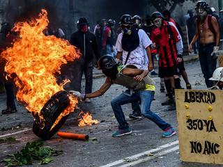 Politie gebruikt op grote schaal traangas