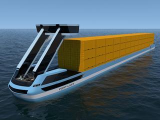 Eerste elektrische schip in de loop van het jaar Wilhelminakanaal in Tilburg op