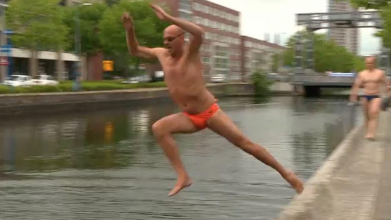 Kilometers zwemmen in open water voor onderzoek naar huidkanker