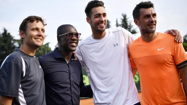 Paolo Maldini (49) verliest bij debuut als tennisser van Nederlander Pel