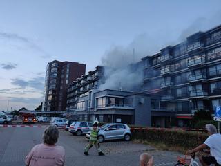 Bewoners van 114 appartementen moesten de nacht elders doorbrengen