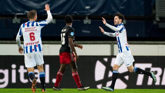 Feyenoord leed een pijnlijke nederlaag bij sc Heerenveen.