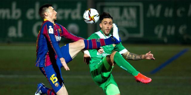 'Barça' ontsnapt aan afgang in beker, Suárez redt Atlético na goal Eibar-keeper