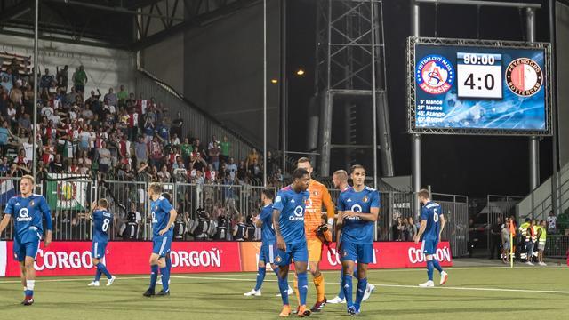 Feyenoord heeft op basis historie 0,46 procent kans volgende ronde te halen