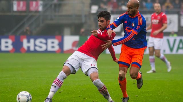 El Ahmadi merkt dat Feyenoord moeite heeft met de druk