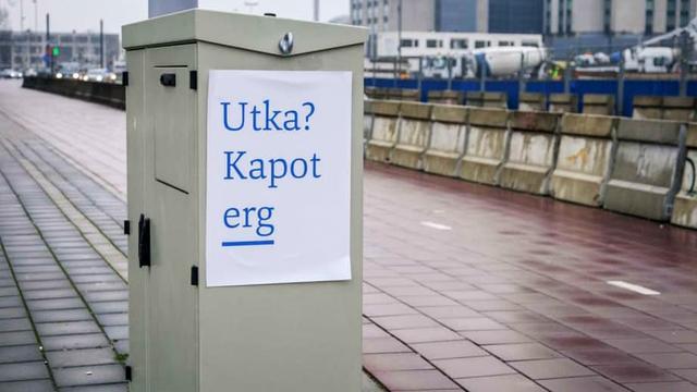 Illegaal geplakte posters zijn reclame Culturele Zondag