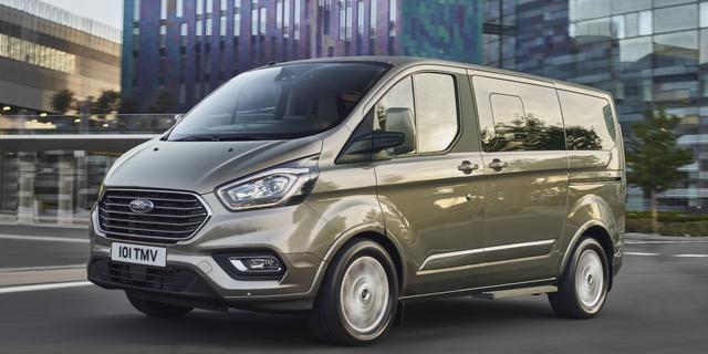 Ford presenteert vernieuwde Tourneo Custom