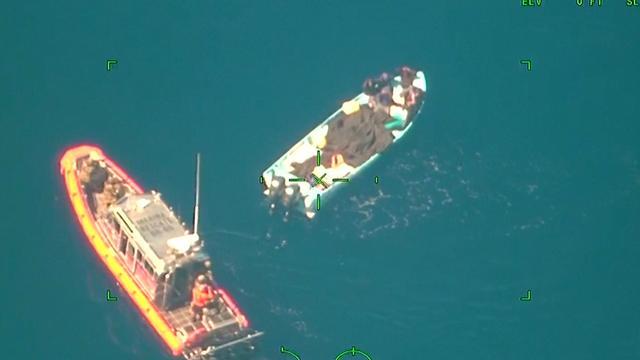 Mexicaanse marine arresteert drugssmokkelaars op zee
