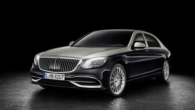 Nieuw front voor Mercedes-Maybach S-Klasse