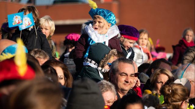 Sinterklaas bezoekt Den Haag