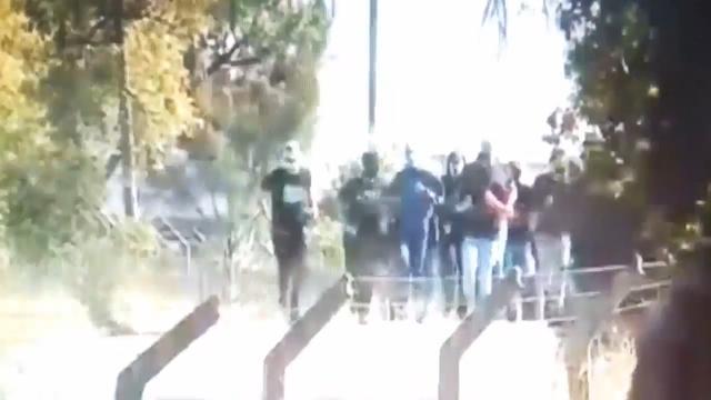 Hooligans bestormen trainingscomplex Sporting Lissabon