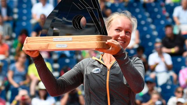 Emotionele Bertens pakt in Gstaad vierde WTA-titel in carrière