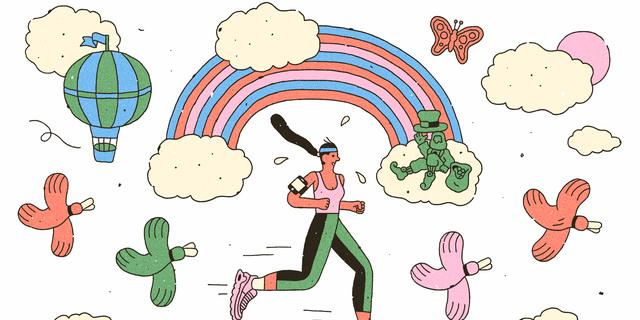 Is de runner's high dan toch geen mythe?