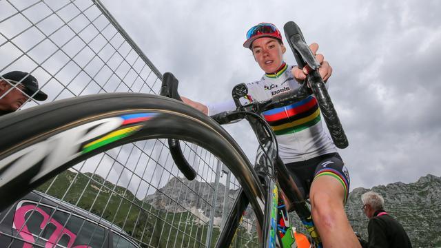 Ploeg Van der Breggen kan voorlopig niet voldoen aan WorldTour-eisen