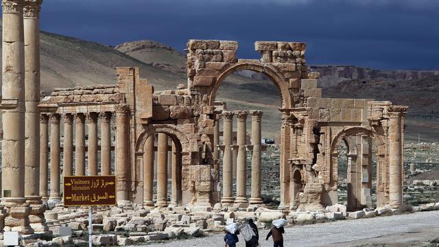 'Hevige gevechten met IS bij citadel Palmyra'