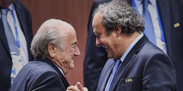 Schorsing van Blatter en Platini door FIFA teruggebracht tot zes jaar