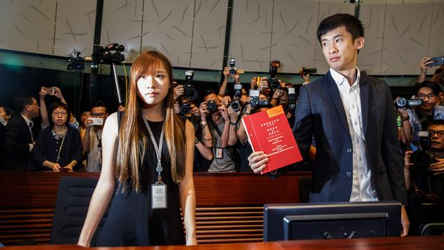 China weigert zittingname activisten in parlement Hongkong