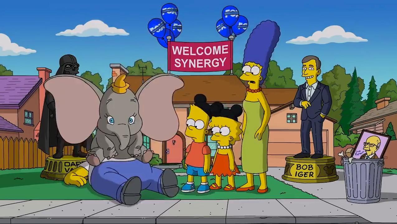 The Simpsons verwelkomen 'nieuwe overheerser' Disney
