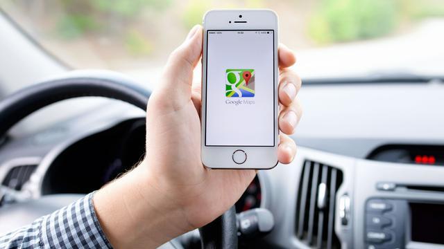 'Google Maps gaat snelheidslimieten weergeven'