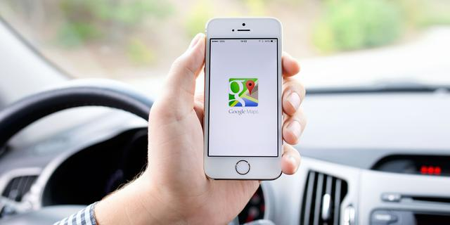Google Maps kan locaties versturen naar iPhone
