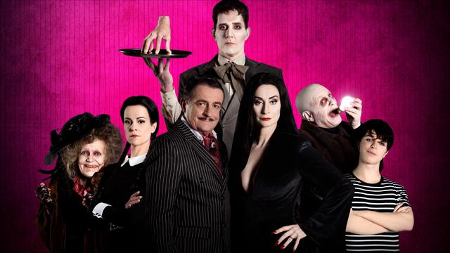 Musical The Addams Family - Meerdere locaties