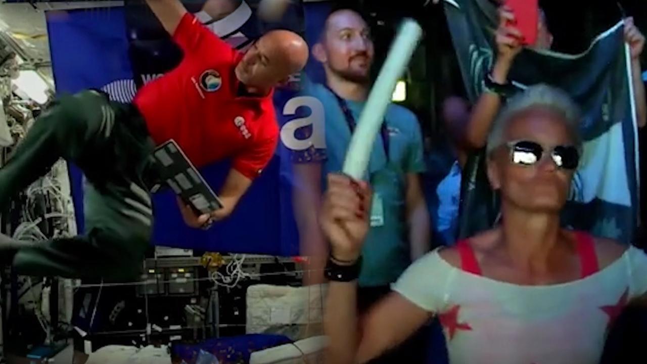 Astronaut geeft vanuit ruimte live-optreden op Ibiza
