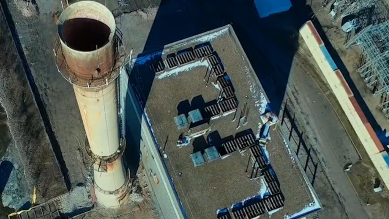 Drone filmt sloop van energiecentrale met explosieven in Wisconsin