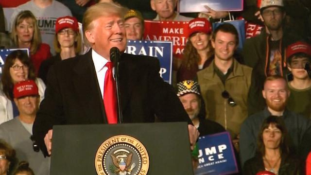 Trump: 'Geen aandacht meer voor haar is voordeel presidentschap'