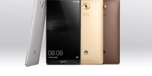 Huawei onthult 6 inch-smartphone Mate 8
