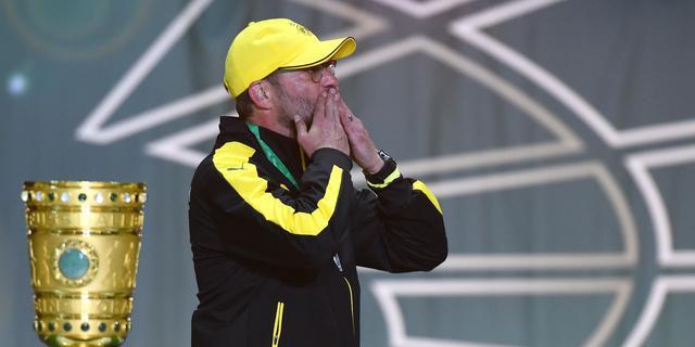 Klopp spreekt van 'pijnlijk afscheid' bij Borussia Dortmund