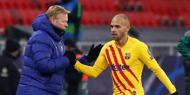 Koeman blijft foutloos met Barcelona in CL, Lang scoort voor Brugge