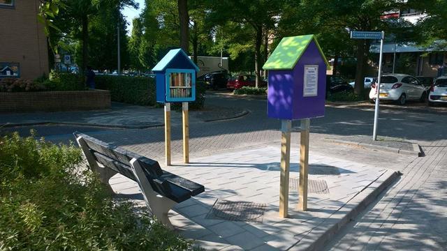 Bewoners realiseren minibieb aan de Groningenstraat