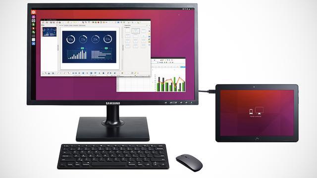 Eerste Ubuntu-tablet gaat als desktopcomputer werken