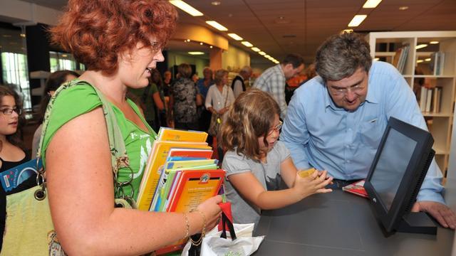 Presentatie nieuwe bibliotheek in Wouw