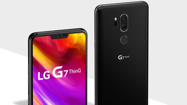LG onthult smartphone LG G7 ThinQ met dubbele cameralens