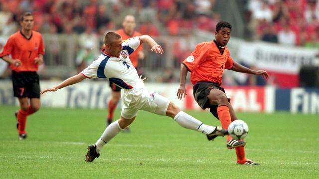 Nederland en Tsjechië speelden ook in 2000 tegen elkaar op het EK.
