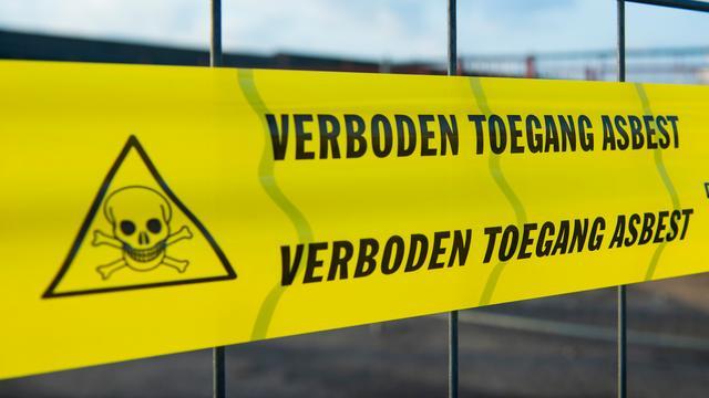 Terugroepactie straalmiddel bedrijf Dordrecht wegens asbest