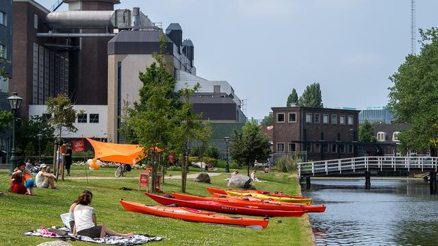 Huigpark wordt mogelijk evenemententerrein tijdens Leidens Ontzet