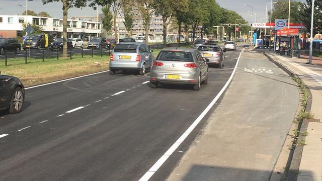 Schipholweg in Haarlem weer open voor verkeer